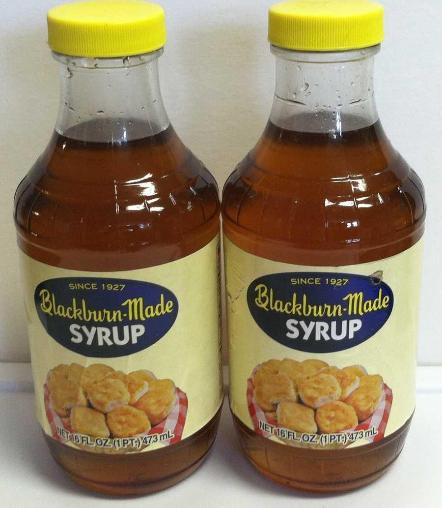 Blackburn syrup