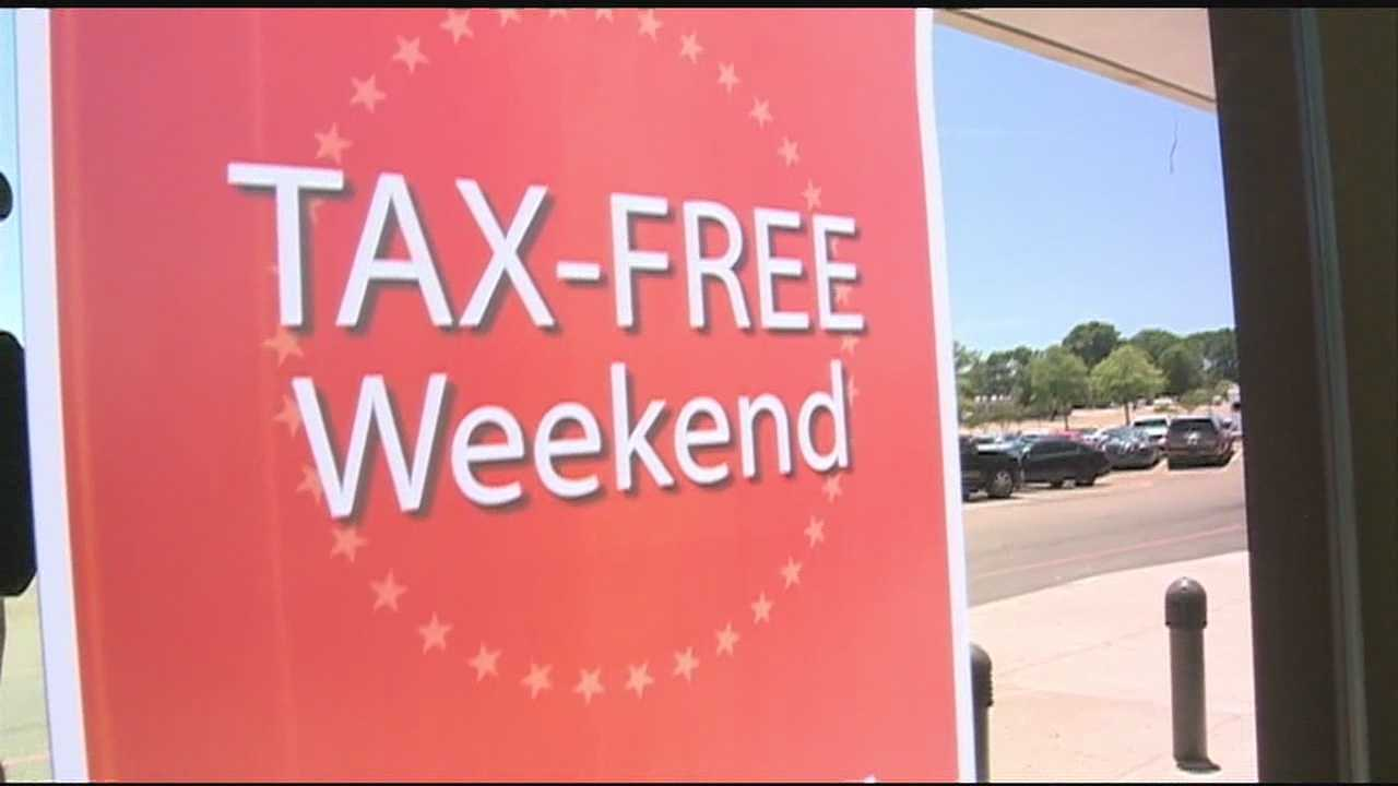 The tax free holiday started - at 12:01 this morning.