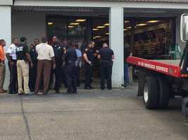 A pickup truck crashed into Hibbett Sports in Hazlehurst, leaving behind wreckage and injuring some people, authorities say.