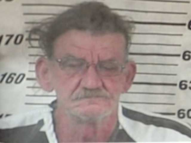 Alfred Baria Sr. is charged with disturbing the peace and being a felon in possession of a firearm, the Perry County sheriff says.