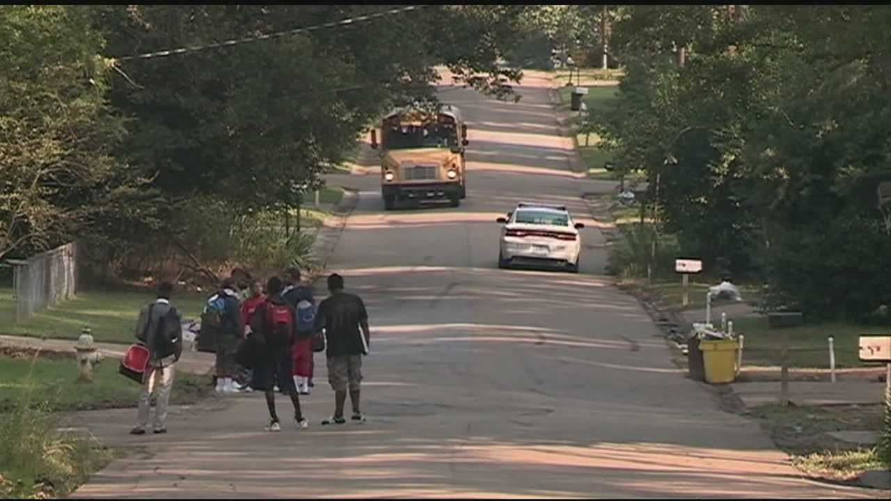 Jackson Public Schools students head back to class Tuesday.