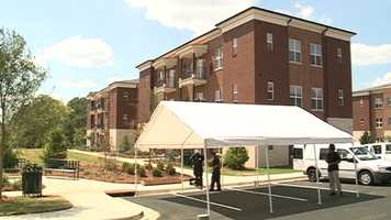 A ribbon-cutting ceremony is set for Friday. Students will begin moving in next week.