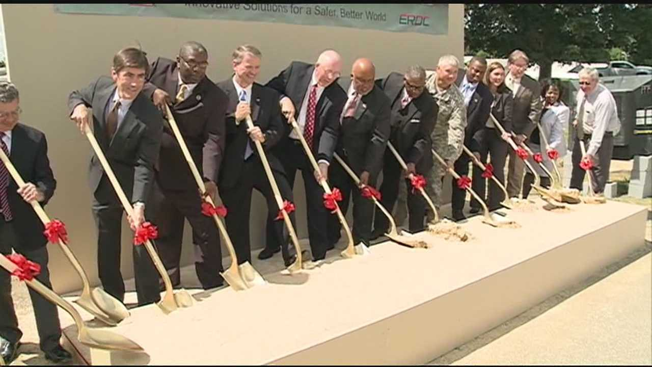 Officials in the city of Vicksburg are excited about a multi-million dollar project at the US Army Engineer Research and Development Center.