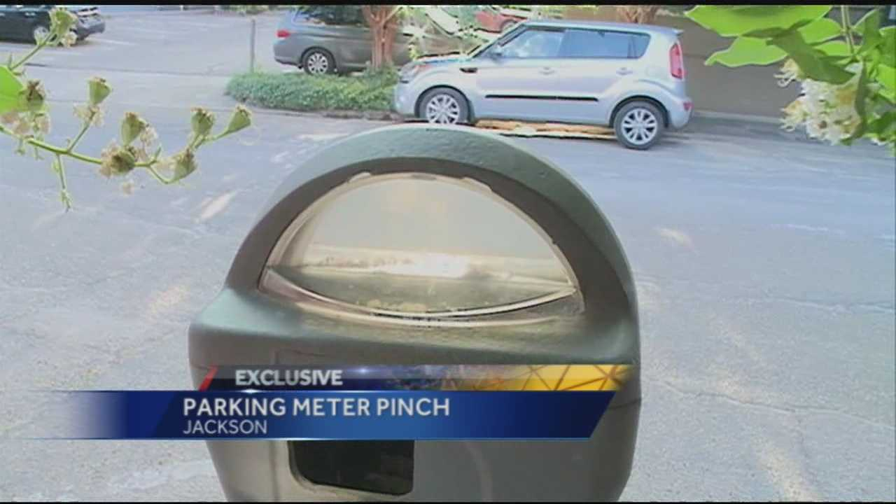 JPD says somebody's breaking in parking meters, to steal the money inside.