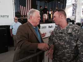 Former Gov. Haley Barbour attended the event.