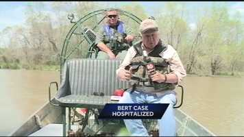 For this story, Bert went out in an airboat with Ricky Flynt, the state's alligator expert.