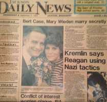 Bert Case and Mary Weiden celebrated their 32nd wedding anniversary on Sept. 6, 2015.