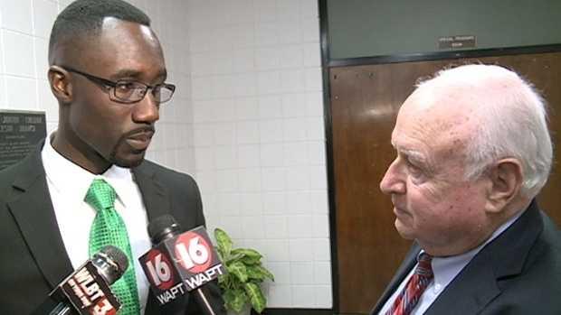 Bert interviews Jackson Mayor Tony Yarber.