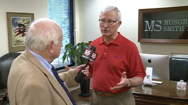 Bert interviews former Gov. Ronnie Musgrove.