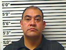 Jose Vazquez, 36, is charged with sexual battery, the Jones County sheriff says.