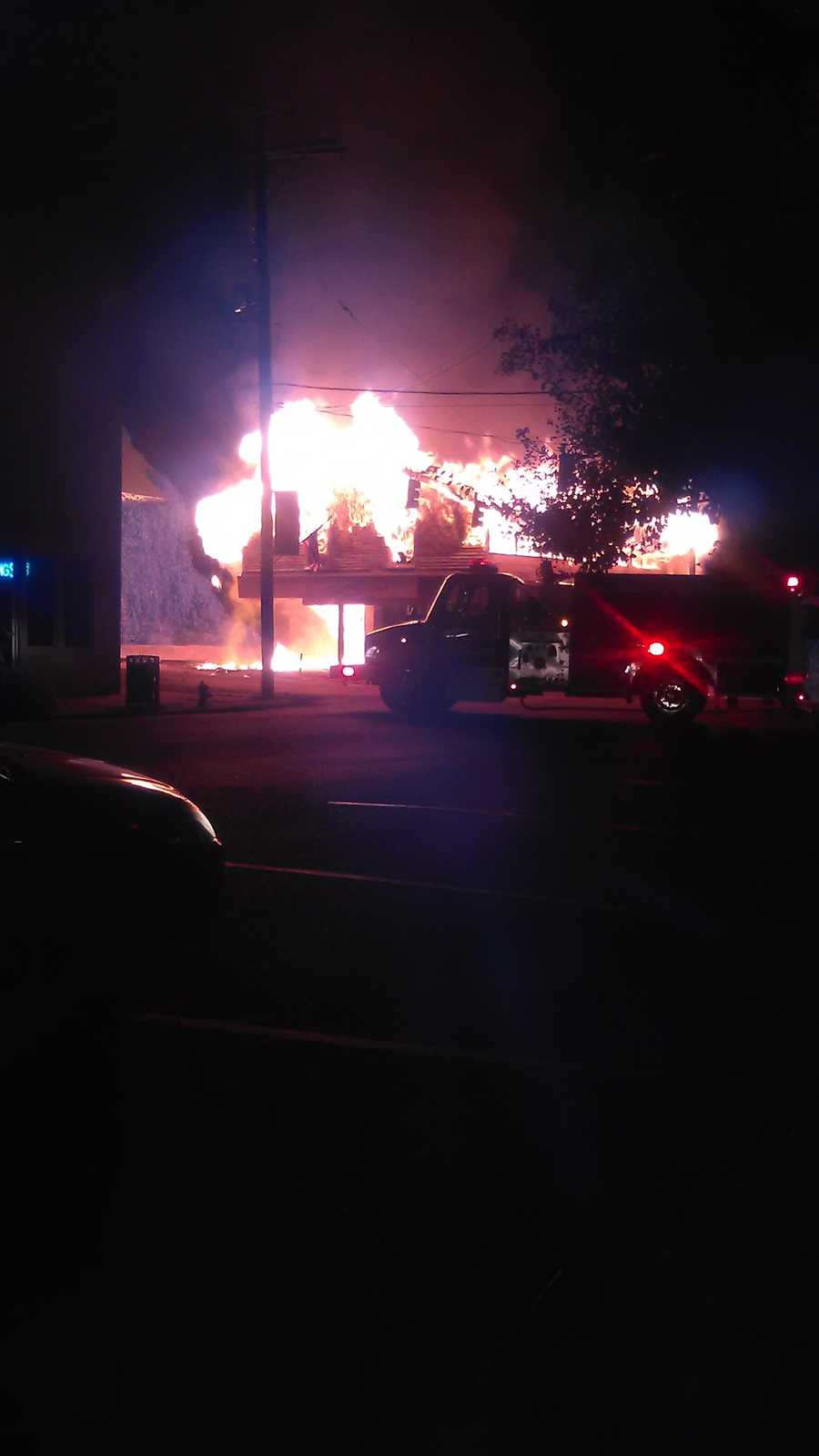 A Port Gibson Police dispatcher says the fire was reported about 8:20 p.m. Monday and was out within two hours.