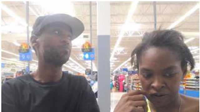 Clinton police say these two people are suspected in an armed robbery case.