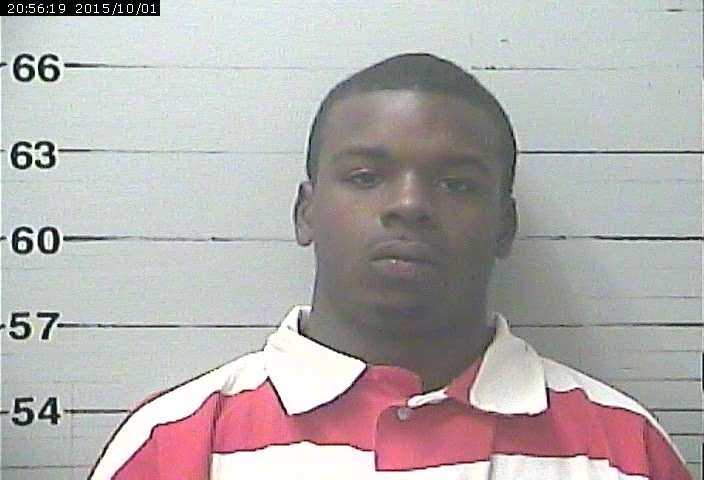 Kimaz Carter, 20, is charged with drug possession and escape, according to Harrison County jail records.