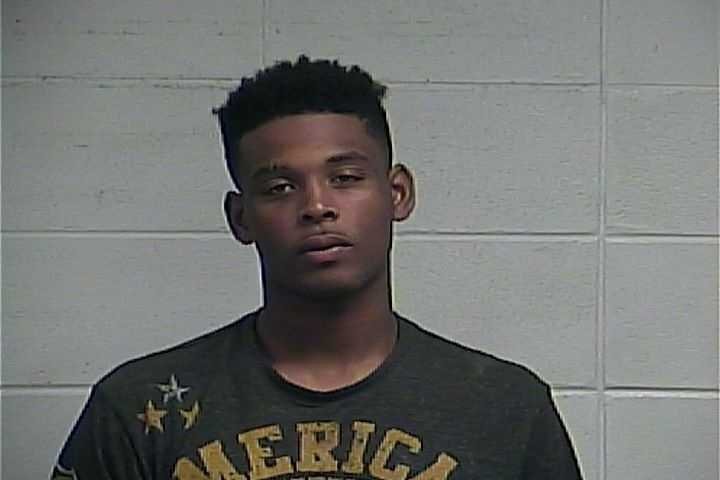 Mario Frelix, 18, of Jackson, is charged with five counts of auto burglary and one count of auto theft, Clinton police say.