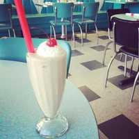 """Brent's Drugs in Jackson """"for milkshakes,"""" Omma Ashley Renee says."""
