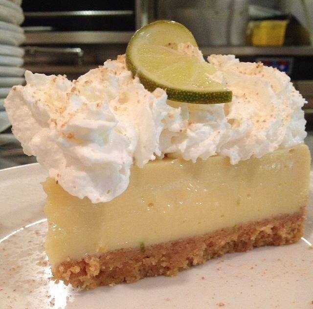 "Amerigo Restaurant in Ridgeland has Key Lime Pie that ""is out of this world,"" Verba Clark says."