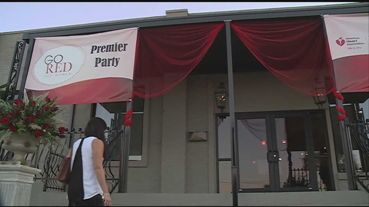 The American Heart Association hosted the Go Red For Women Premier Party Sunday night.