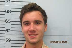 James Declan Basile is charged with assault, hazing and larceny, according to Lafayette County Jail records.