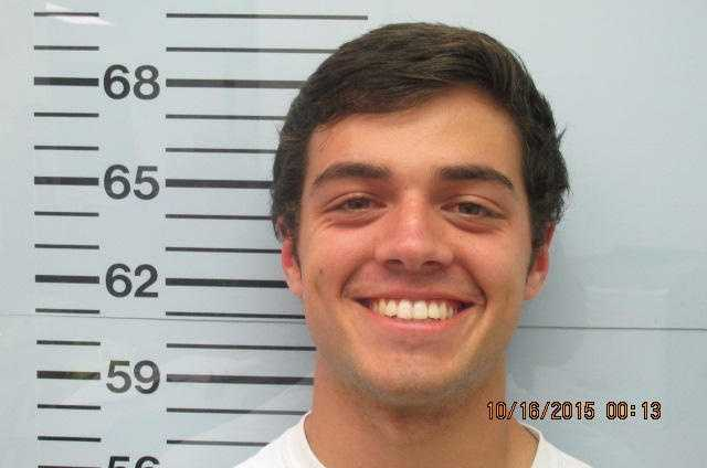 Christian Guy is charged with larceny, according to Lafayette County Jail records.