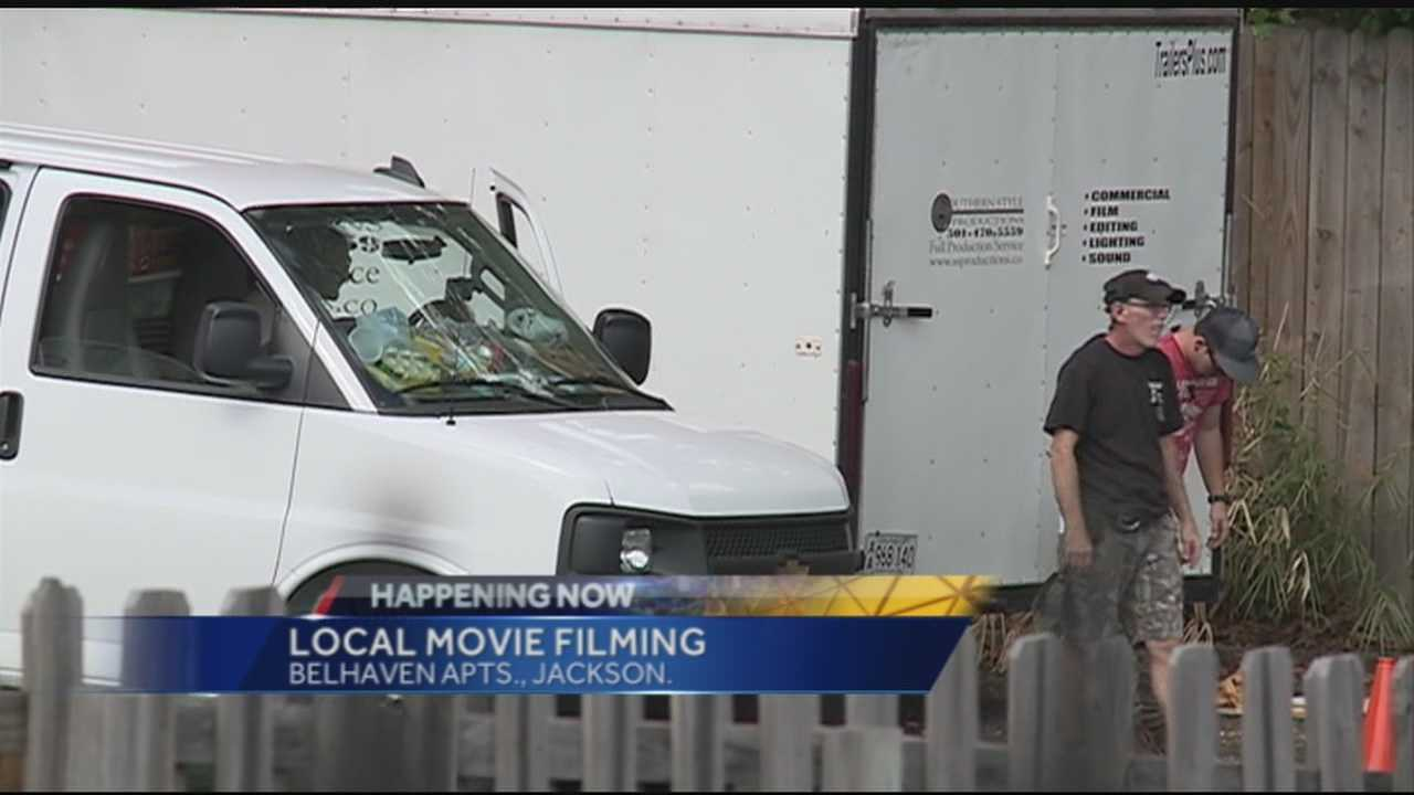 Lights, camera, action residents spot film equipment in Belhaven
