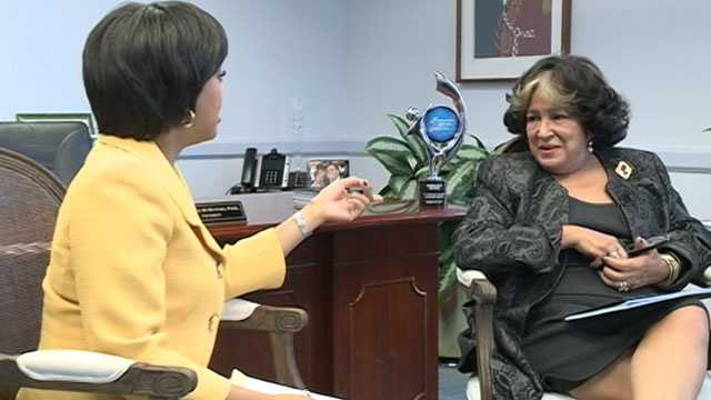 16 WAPT's Erin Pickens sits down with JSU President Dr. Carolyn Meyers.