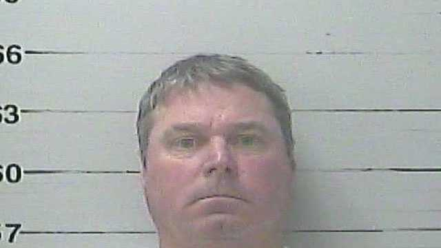 Scott Stuckey, 45, is charged with aggravated assault, Gulfport police say.