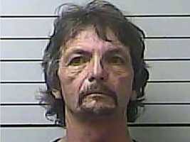 Marshall Leonard, 61, of Tupelo, is charged with detonating an explosive, police say.