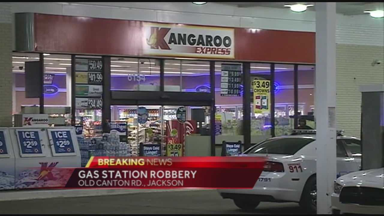 Jackson police were investigating a gas station robbery early Wednesday morning.