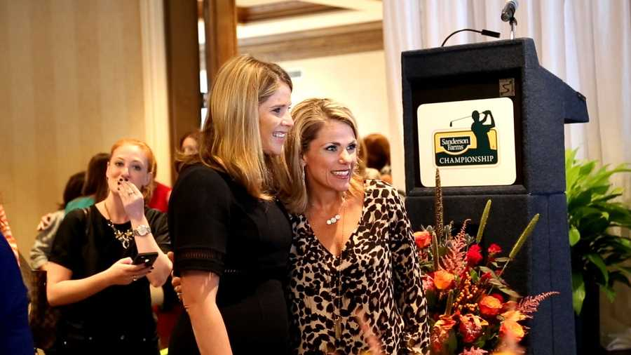 Jenna Bush Hager was the keynote speaker at the Sanderson Farms Championship Women's Luncheon.