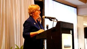 Mississippi First Lady Deborah Bryant spoke at the event.