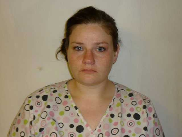 Jessica Hammond, 29, of Waveland, is charged with felony child abuse, police say.