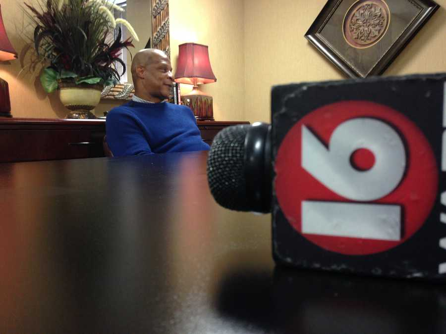He is in Jackson to promote Strawberry Ministries, which focuses on the path to recovery from addiction through Jesus Christ.