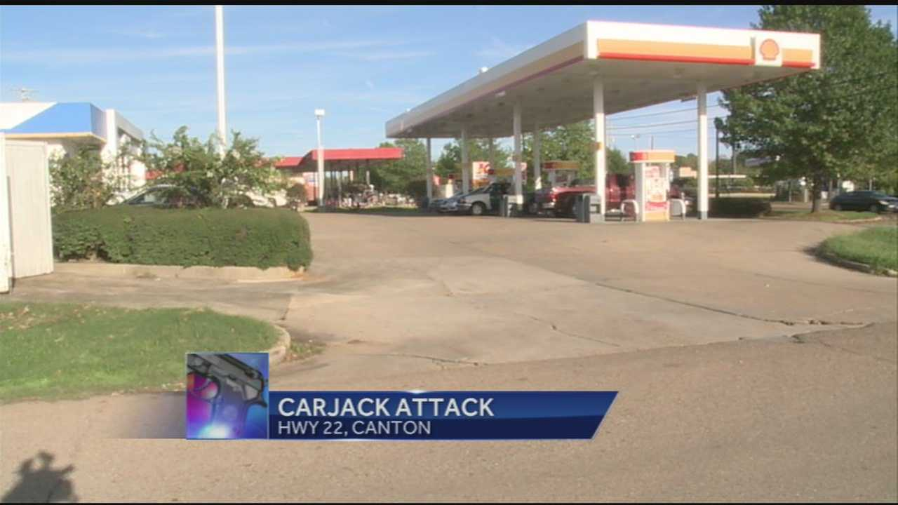 Police say the victim was filling his tires up with air at the shell station when the suspect approached. 16 WAPT's Anne Parker has the story.
