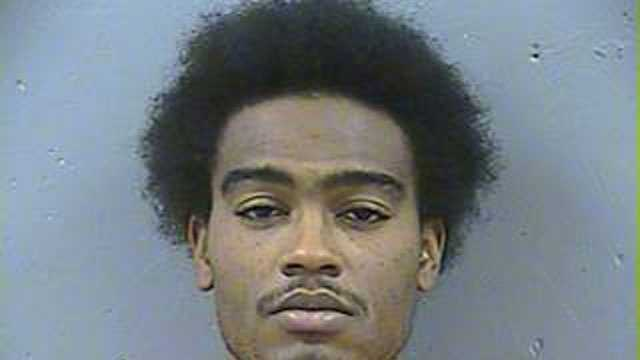 Jeromie Deverio Harris, 23, is charged with murder, Canton police said.