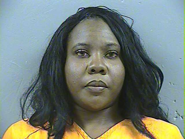 Anjeni' Qyanik Moore is one of four woman arrested by Ridgeland police and MBI agents in a prostitution sting.