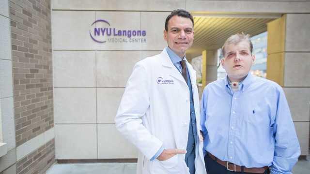 Dr. Eduardo D. Rodriguez and Pat Hardison