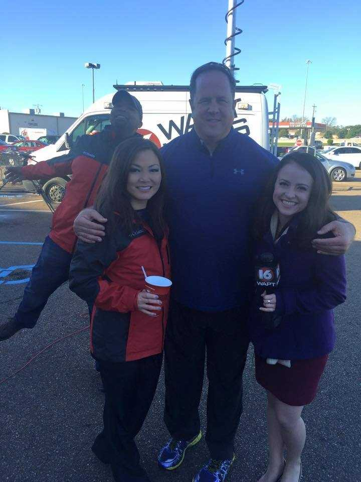 16 WAPT's Keegan Foxx, Scott Simmons and Hadas Brown are collecting donations for Turkey Drive 16.