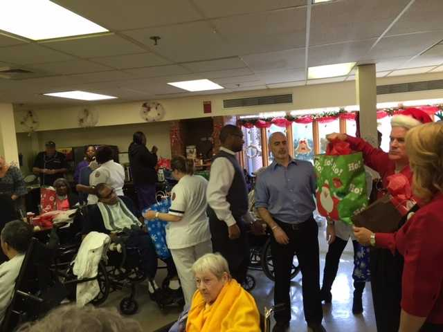 16 WAPT hosts a party every year at the nursing home.