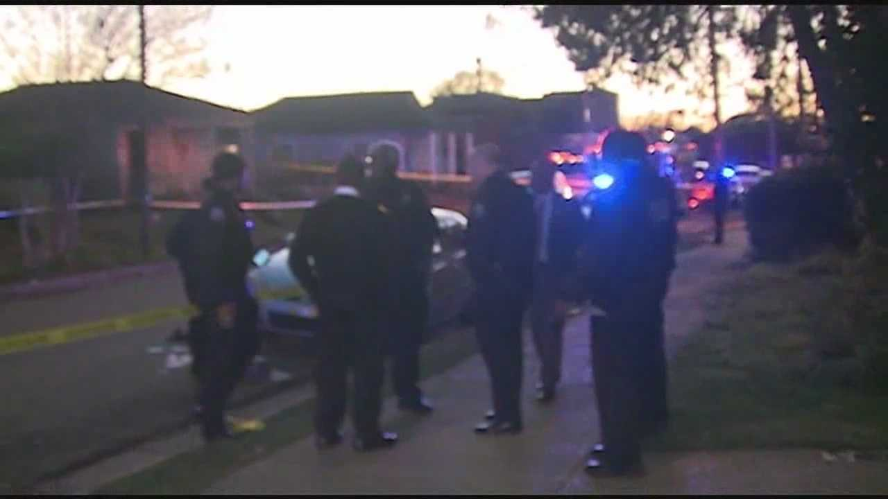 A teenager in critical condition after he was shot in front of a Jackson school.