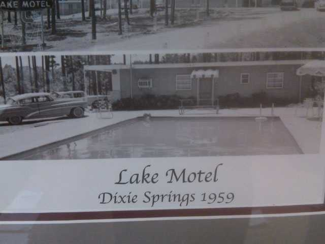 The cafe was at a motel, but moved in 1984 after a fire.