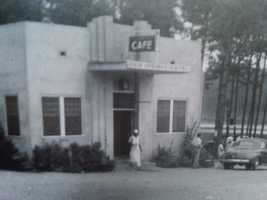 The original Dixie Springs Cafe was built in 1939.