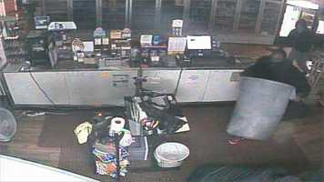 Brandon police release surveillance photos of three people wanted in connection with a business burglary.