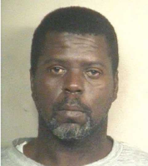 Carl Burse, 44, is charged with bank robbery, Jackson police say.