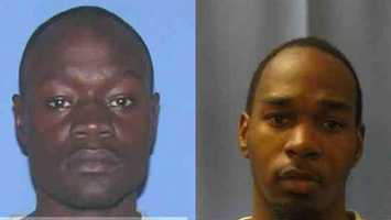 John Woods and Brodrick Giles were arrested by Brandon police and U.S. marshals in connection with the burglary of Humidor World's Finest Cigars.