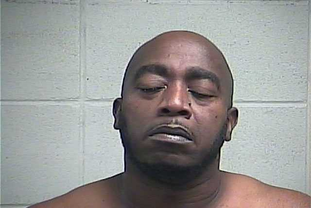 Derrick Taylor, 43, of Brandon, is charged with aggravated domestic assault, Clinton police say.