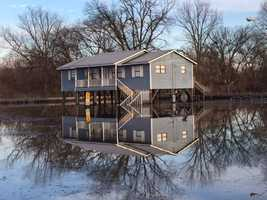 The Mississippi River has already flooded some neighborhoods in Warren County, including the Chickasaw and Kings areas.