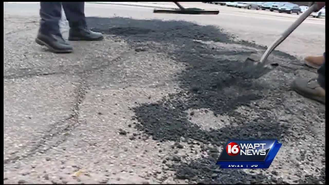 Some people in South Jackson say potholes are taking over their neighborhood.