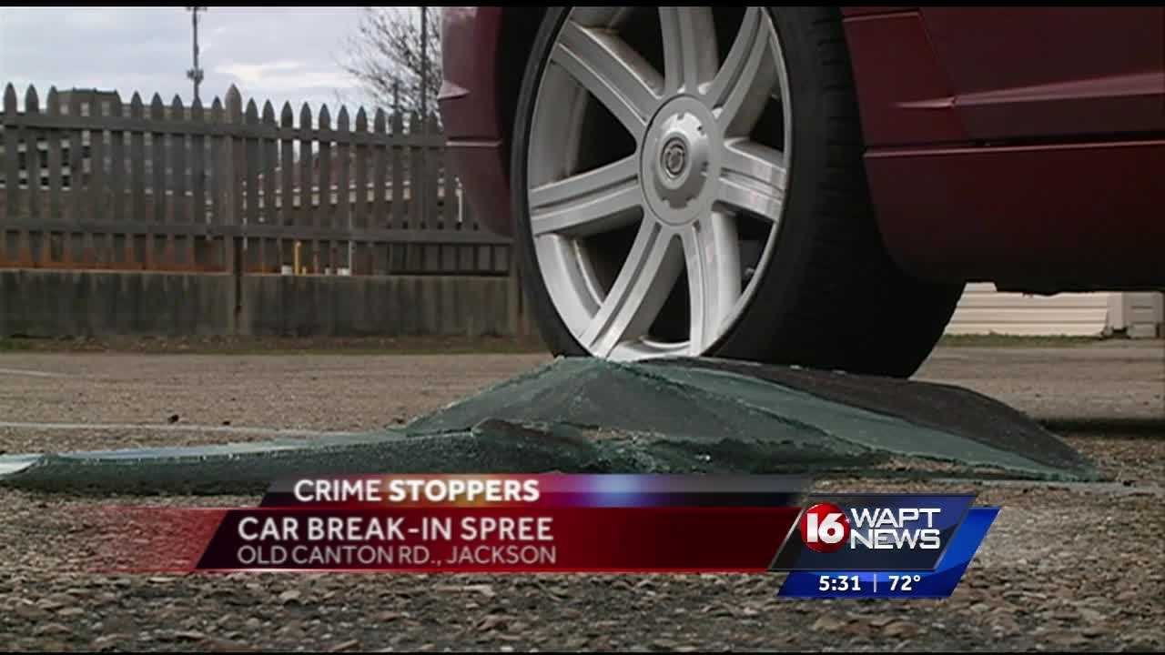 Several car break-ins at a usually quiet Jackson apartment complex this morning.