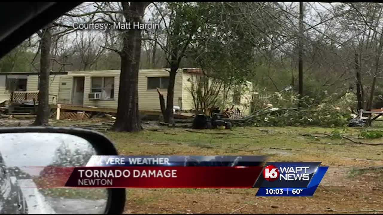 Newton county working to recover after a tornado tore through town.