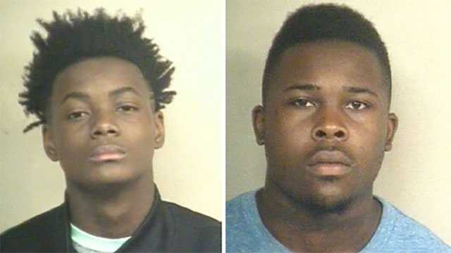Ivan Eatmond and Pierre Pryer have been arrested and are being charged in connection with a series of robberies in Jackson, police say.